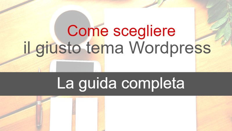 tema wordpress guida definitiva